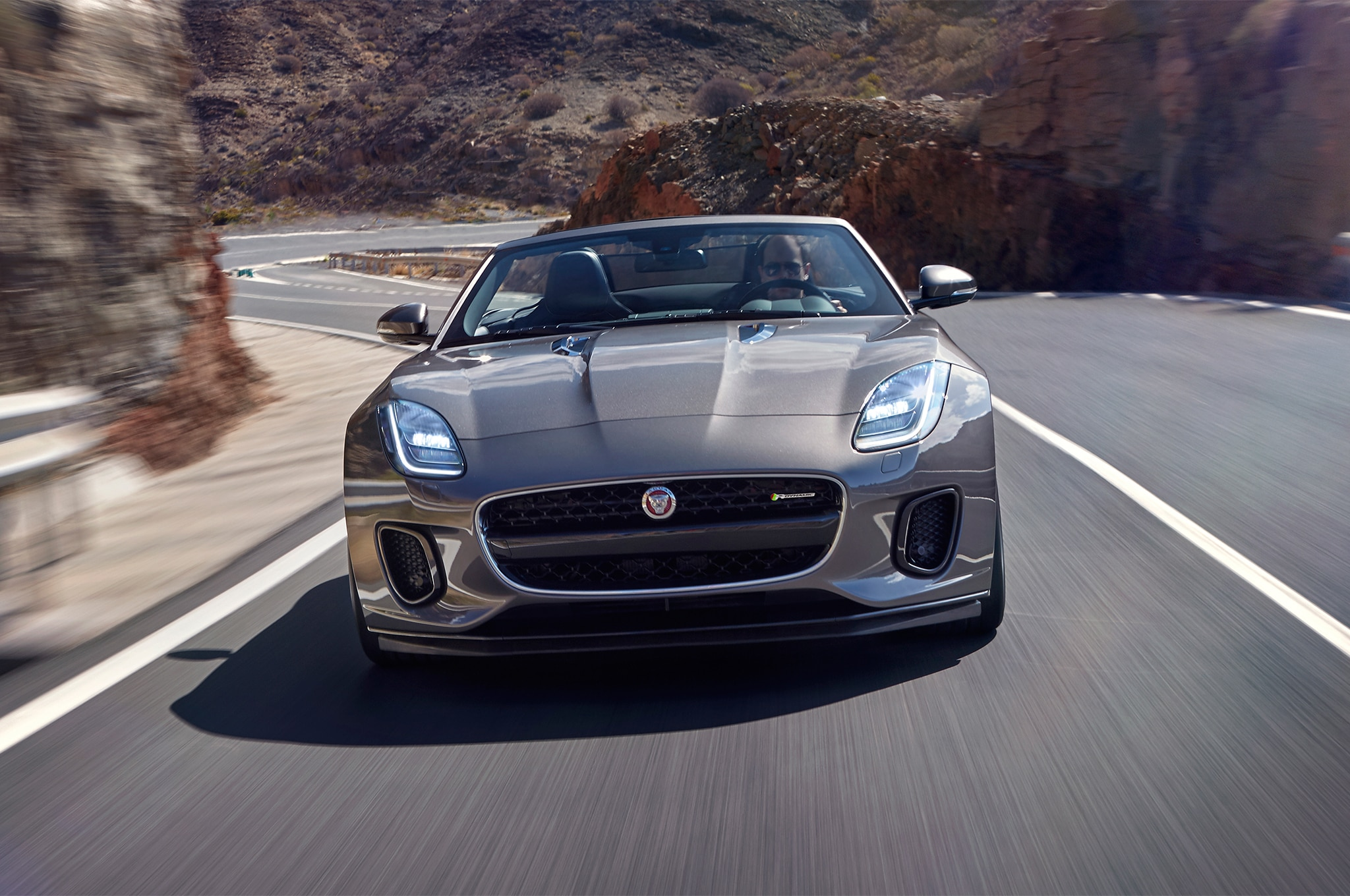 2018-Jaguar-F-Type-four-cylinder-front-end-in-motion-02-1-9