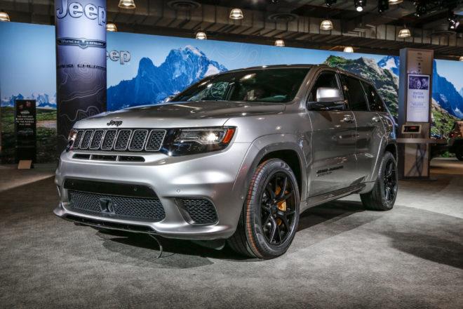2018 Jeep Grand Cherokee Trackhawk Front Three Quarter 02 1 660x440