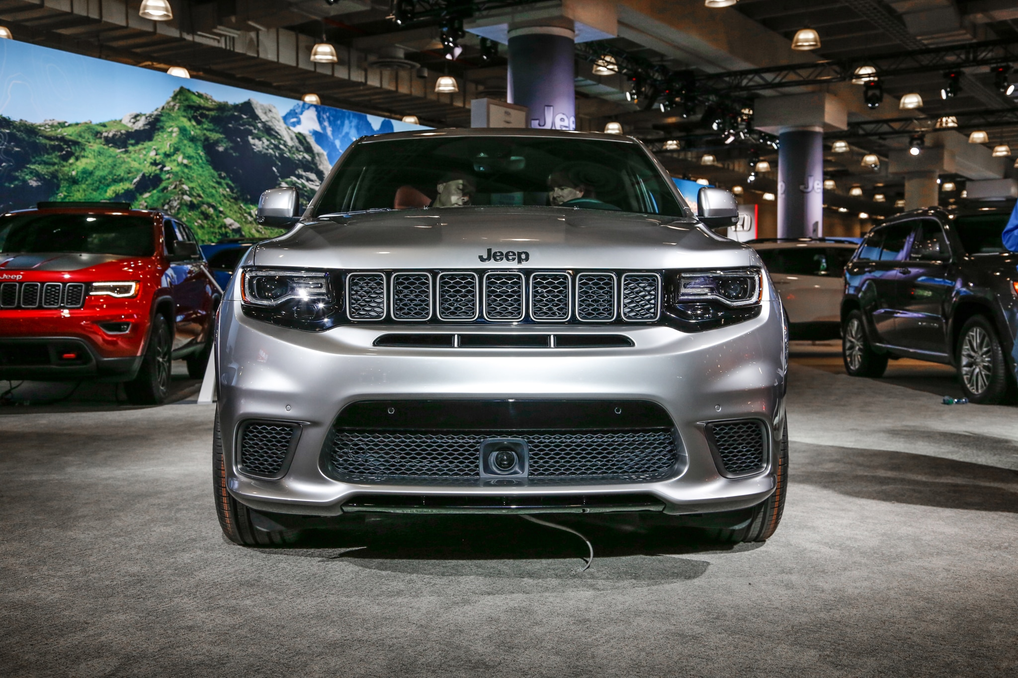2018 jeep srt trackhawk. plain jeep by contrast  inside 2018 jeep srt trackhawk a