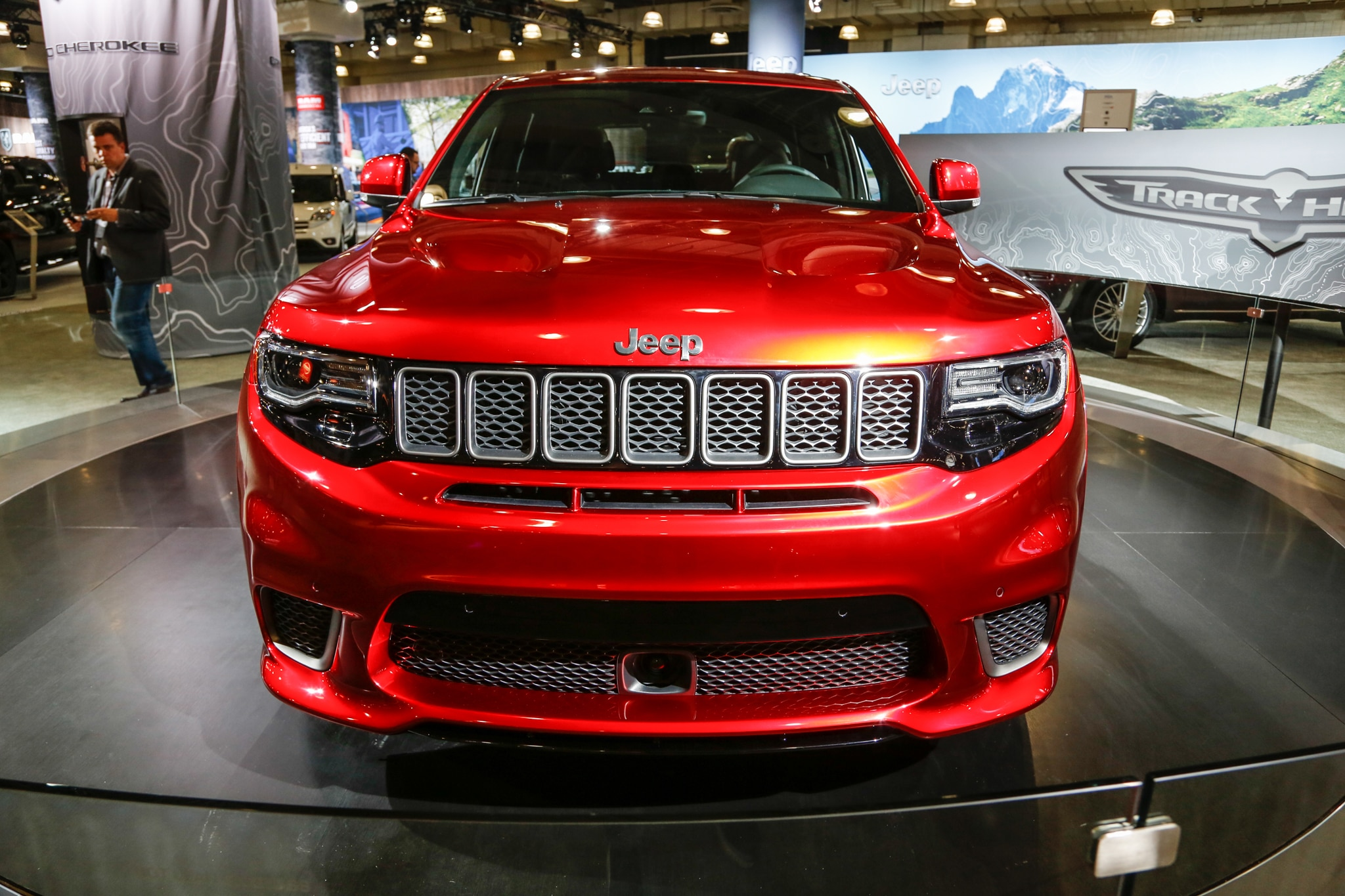2018 jeep trackhawk colors. modren jeep show more with 2018 jeep trackhawk colors automobile magazine