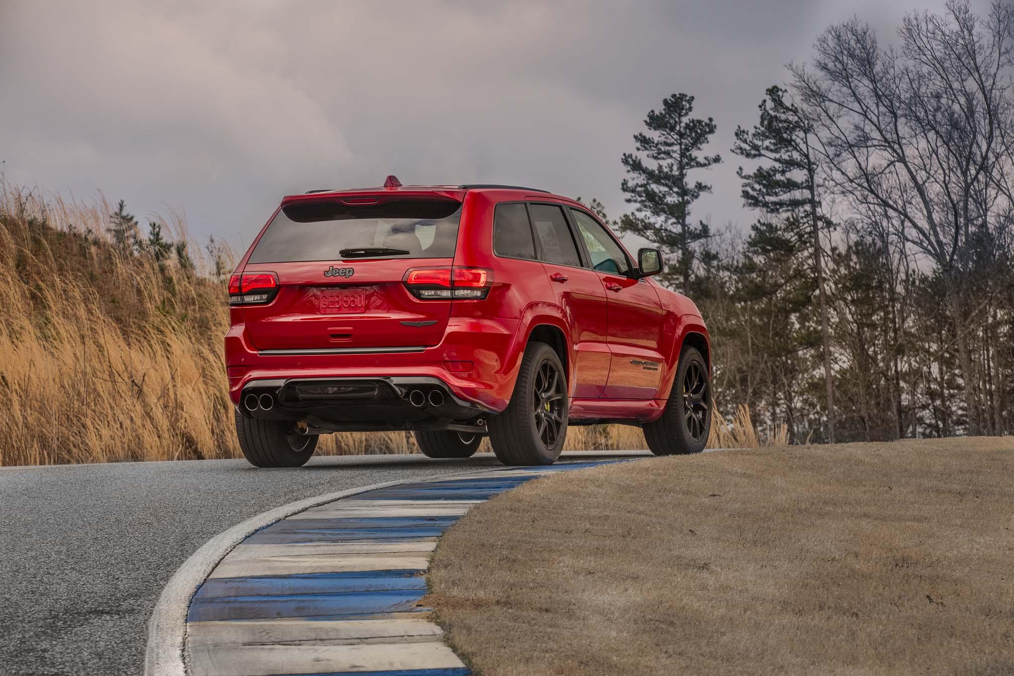 2018 Jeep Grand Cherokee Trackhawk Rear Three Quarters