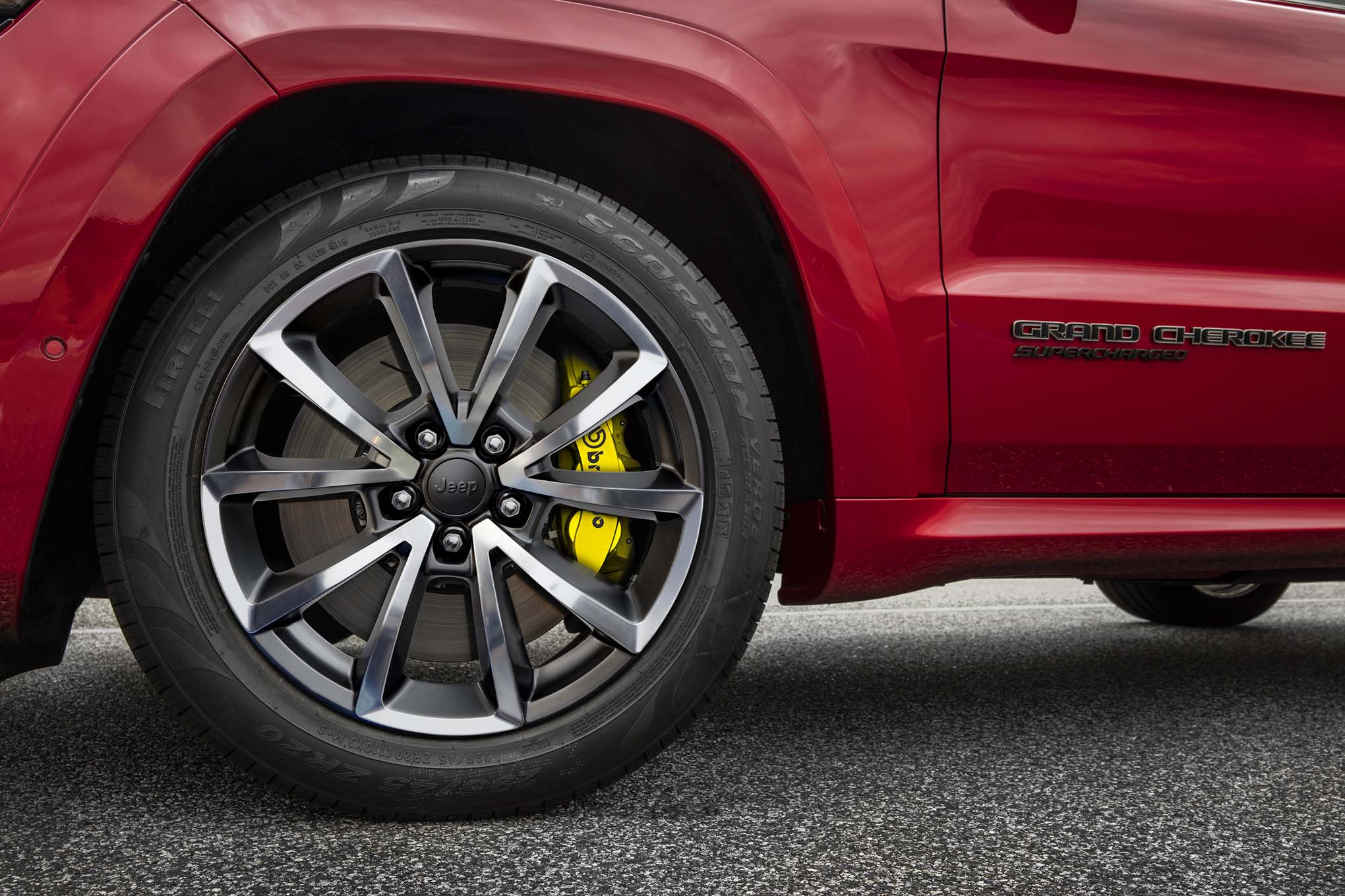 The 2018 Jeep Grand Cherokee Trackhawk Is An Suv That Runs