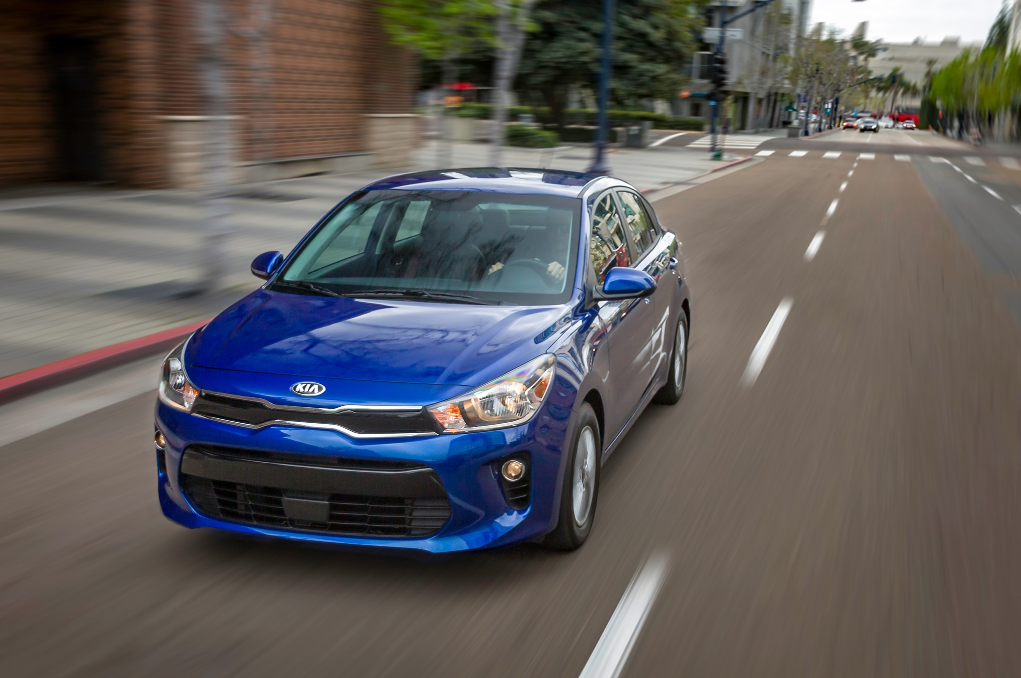2018 kia rio sedan and hatchback reloaded for new york show automobile magazine. Black Bedroom Furniture Sets. Home Design Ideas