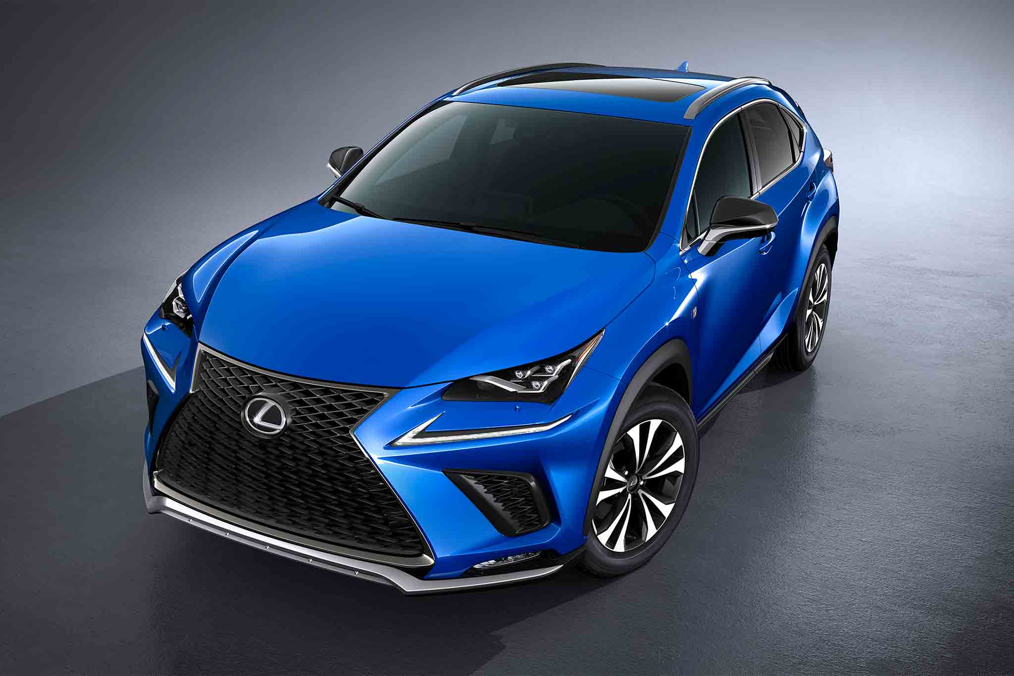 2018 lexus nx shows off new design in shanghai automobile magazine. Black Bedroom Furniture Sets. Home Design Ideas