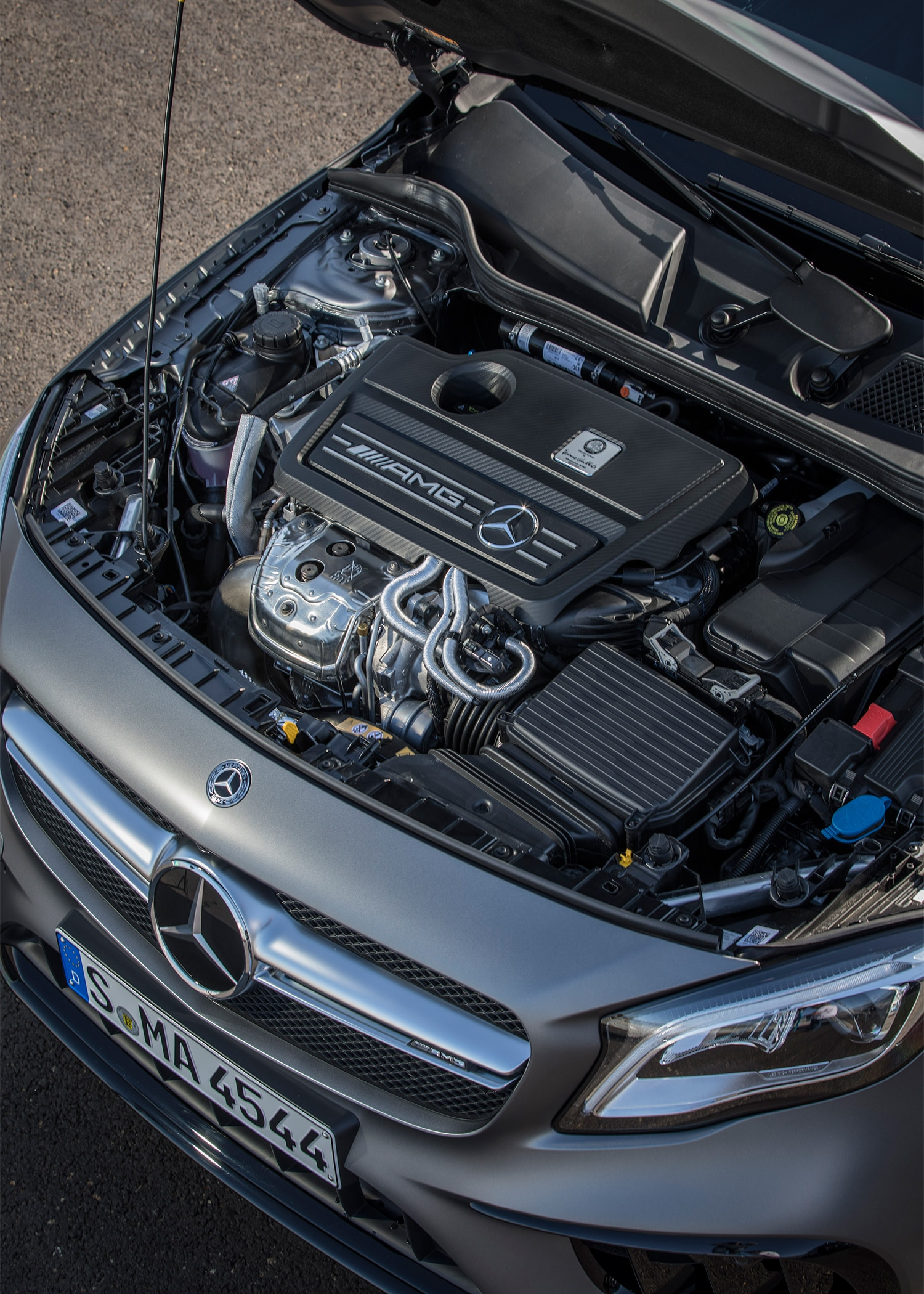 2018 mercedes benz gla class first drive review for Mercedes benz engine