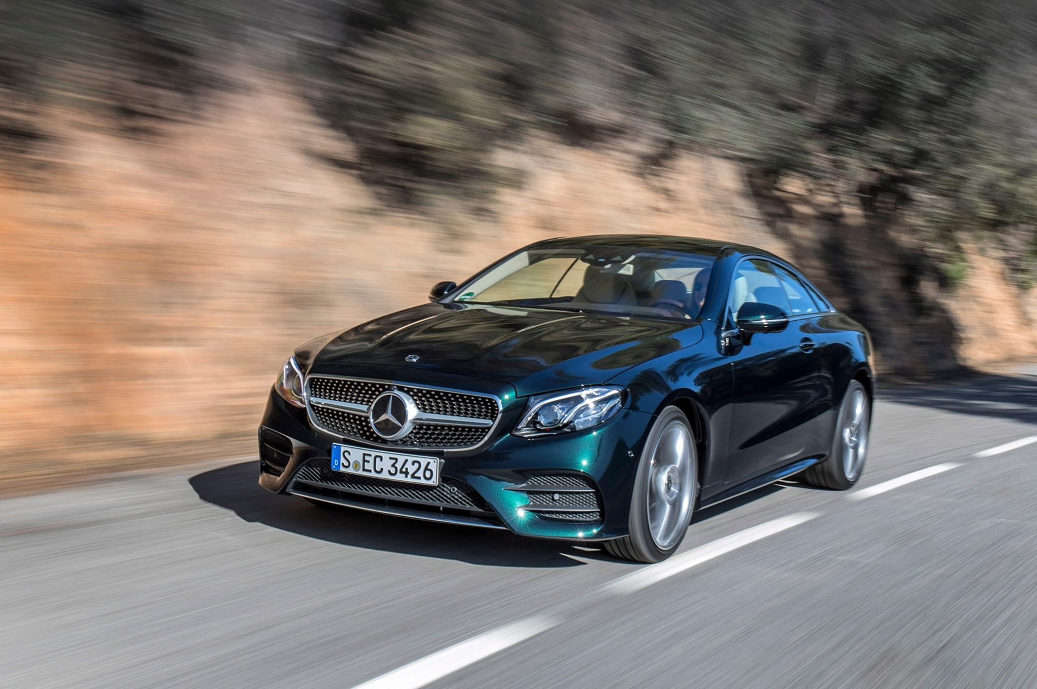 2018 mercedes benz e400 4matic coupe first drive review for Mercedes benz 400