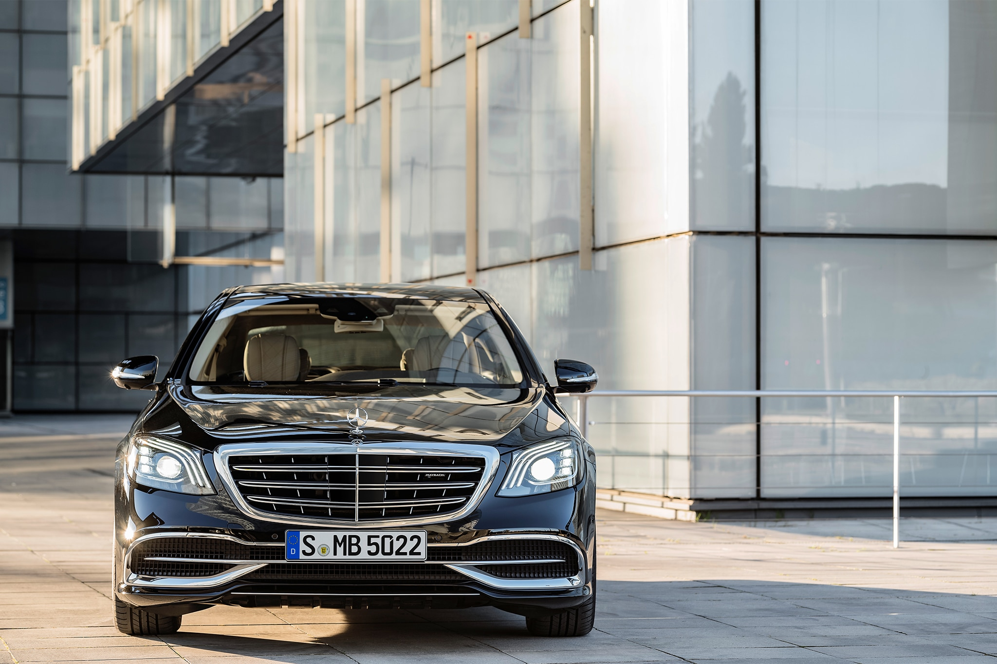 Updated 2018 Mercedes Benz S Class Sedan Bows At The
