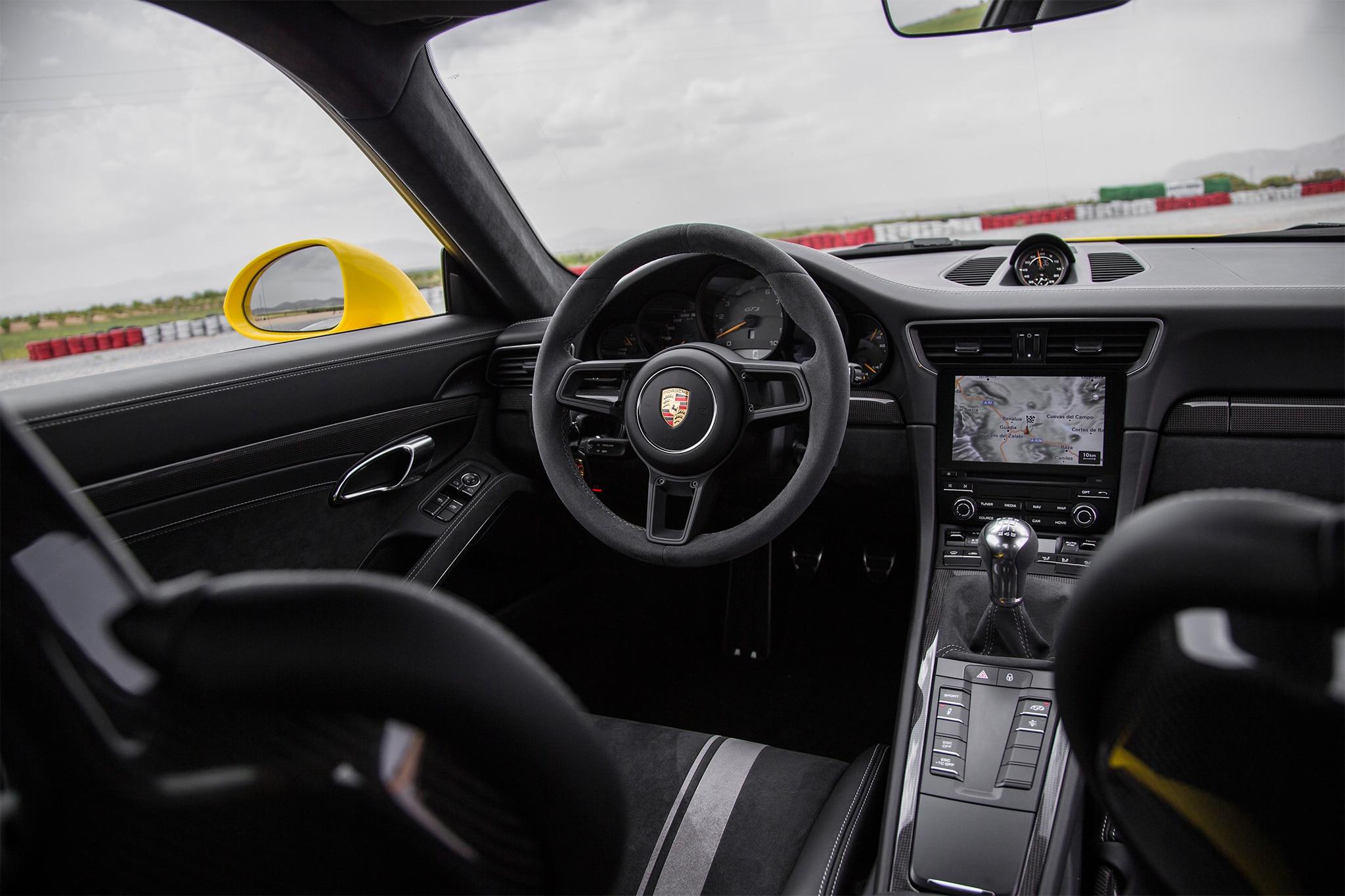 2018 porsche 911 gt3 first drive review automobile magazine. Black Bedroom Furniture Sets. Home Design Ideas