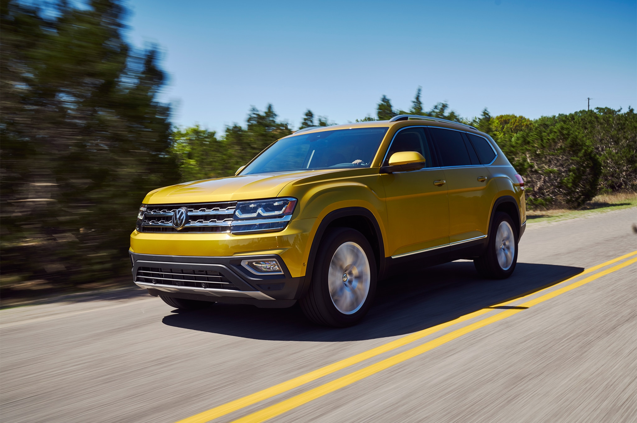 2018 Volkswagen Atlas SEL Premium First Drive Review | Automobile Magazine