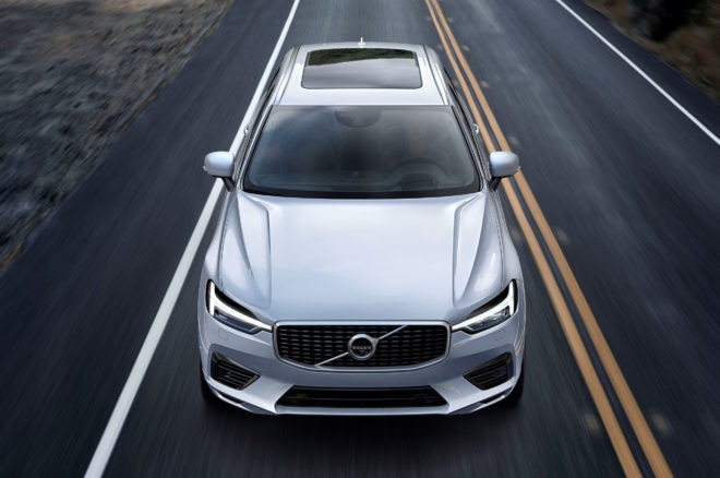 2018 Volvo XC60 top view