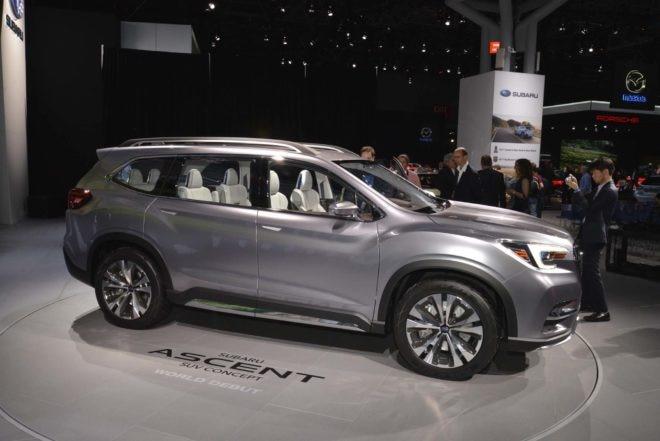 2019 Subaru Ascent front side