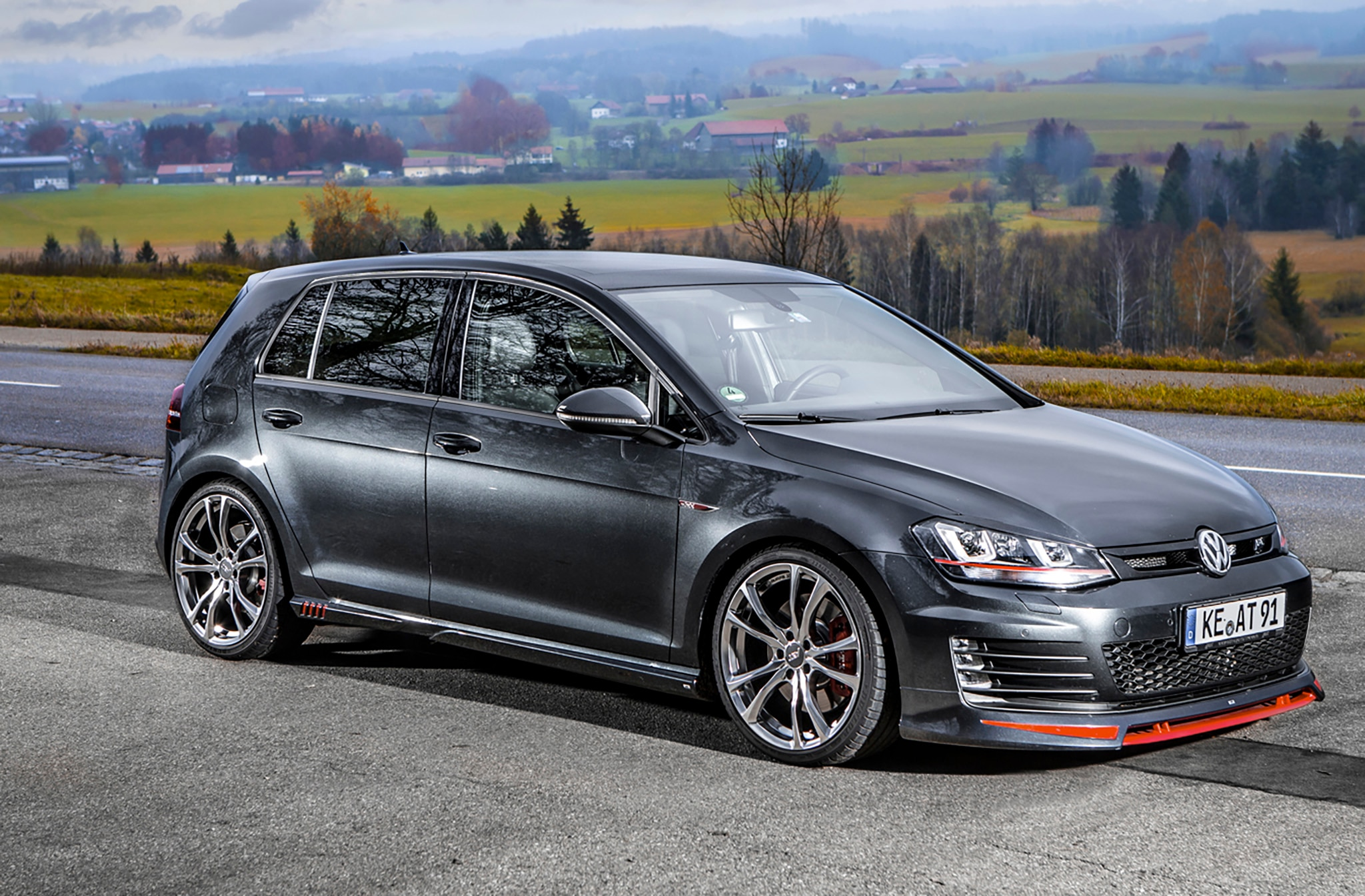 Vw Golf Gti Performance 2017 >> ABT Offers Powertrain and Visual Upgrades for the 2017 Volkswagen GTI | Automobile Magazine
