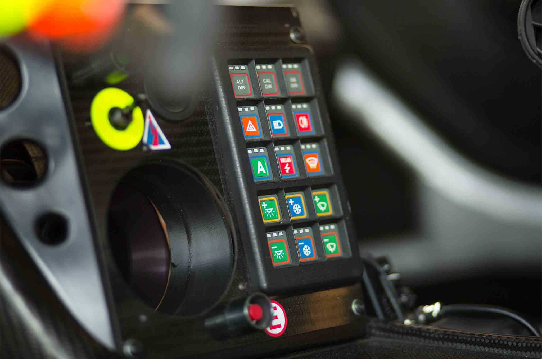 Vehicle Control Panel : First laps aston martin racing v vantage gte