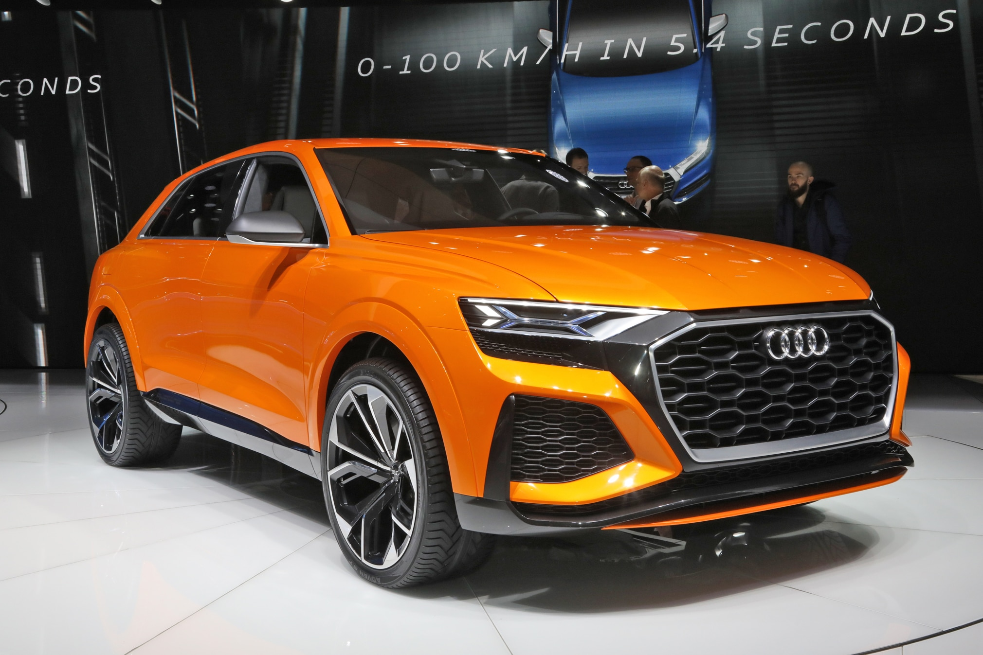Audi Q8 Teased In New Sketch Automobile Magazine