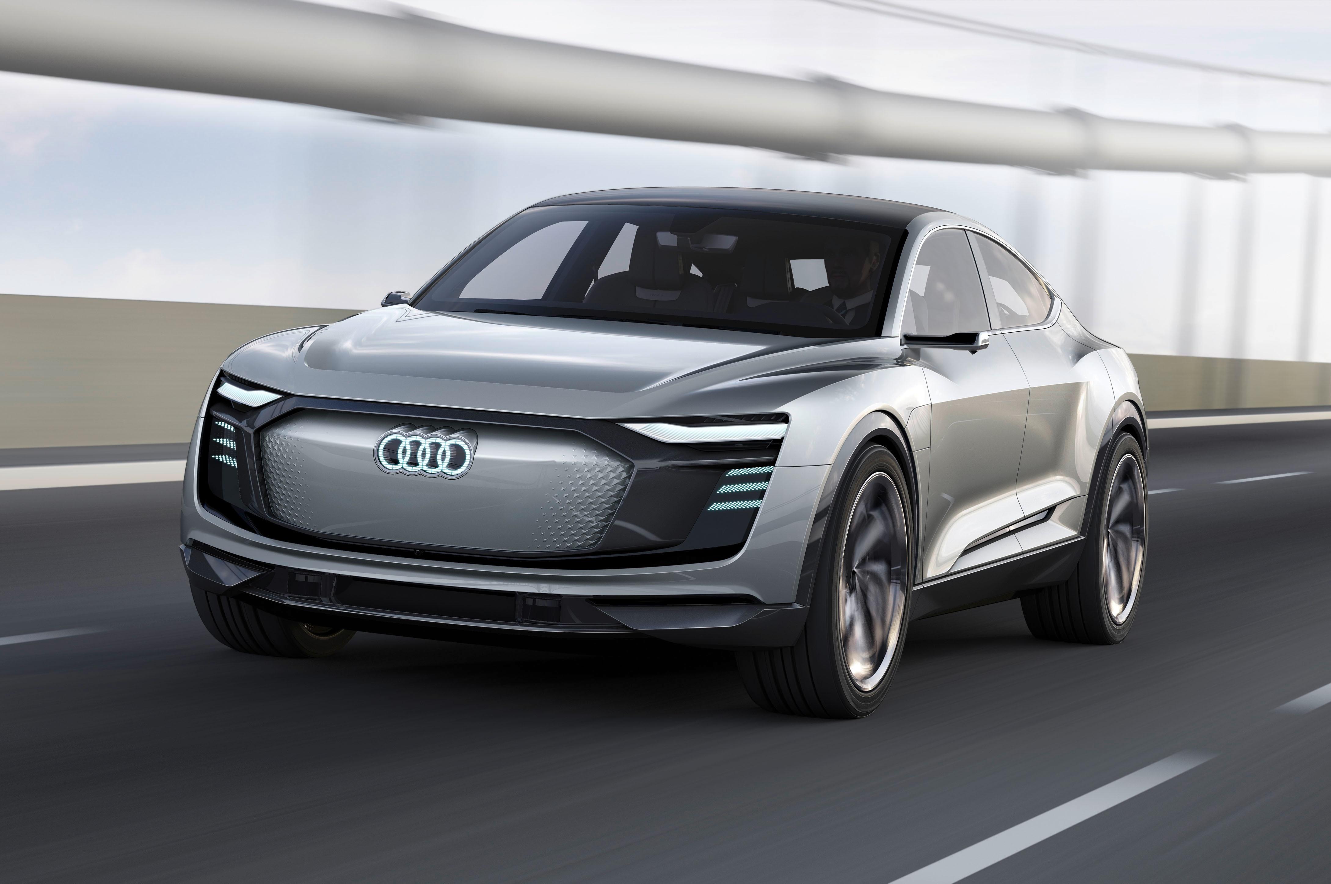 Audi e tron Sportback Concept front look