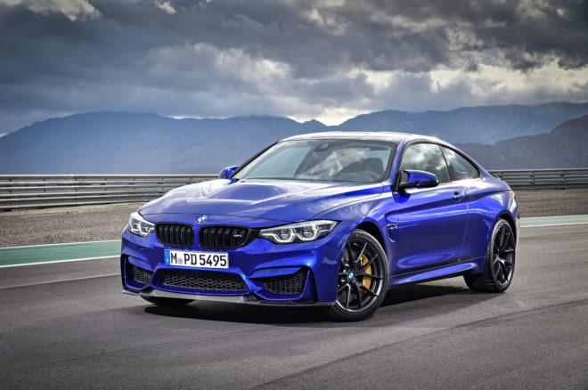 BMW M4 CS Front Three Quarters 660x438