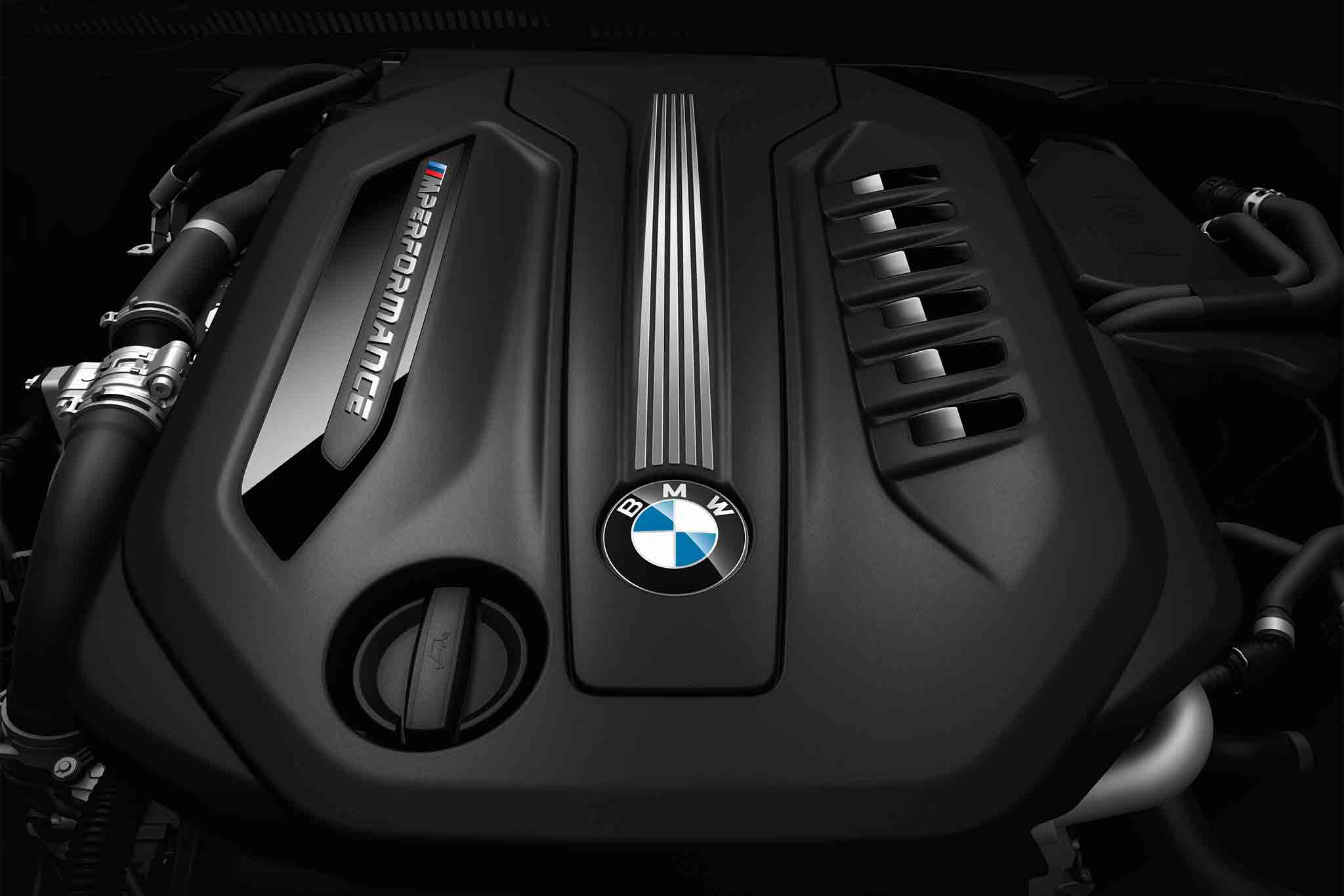 BMW M550d xDrive engine
