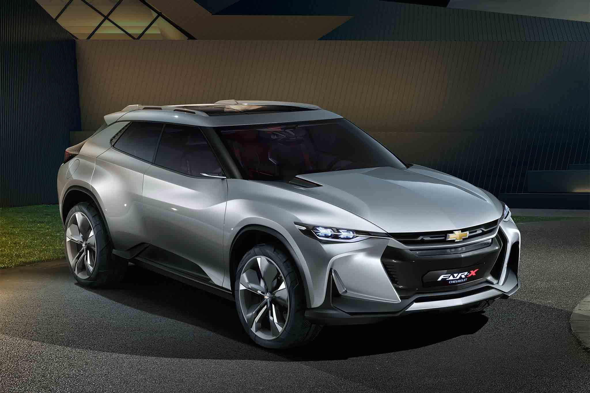 Chevrolet FNR X All Purpose Sports Concept Vehicle Front Three Quarter