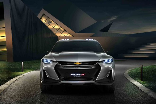 Chevrolet FNR X All Purpose Sports Concept Vehicle front view