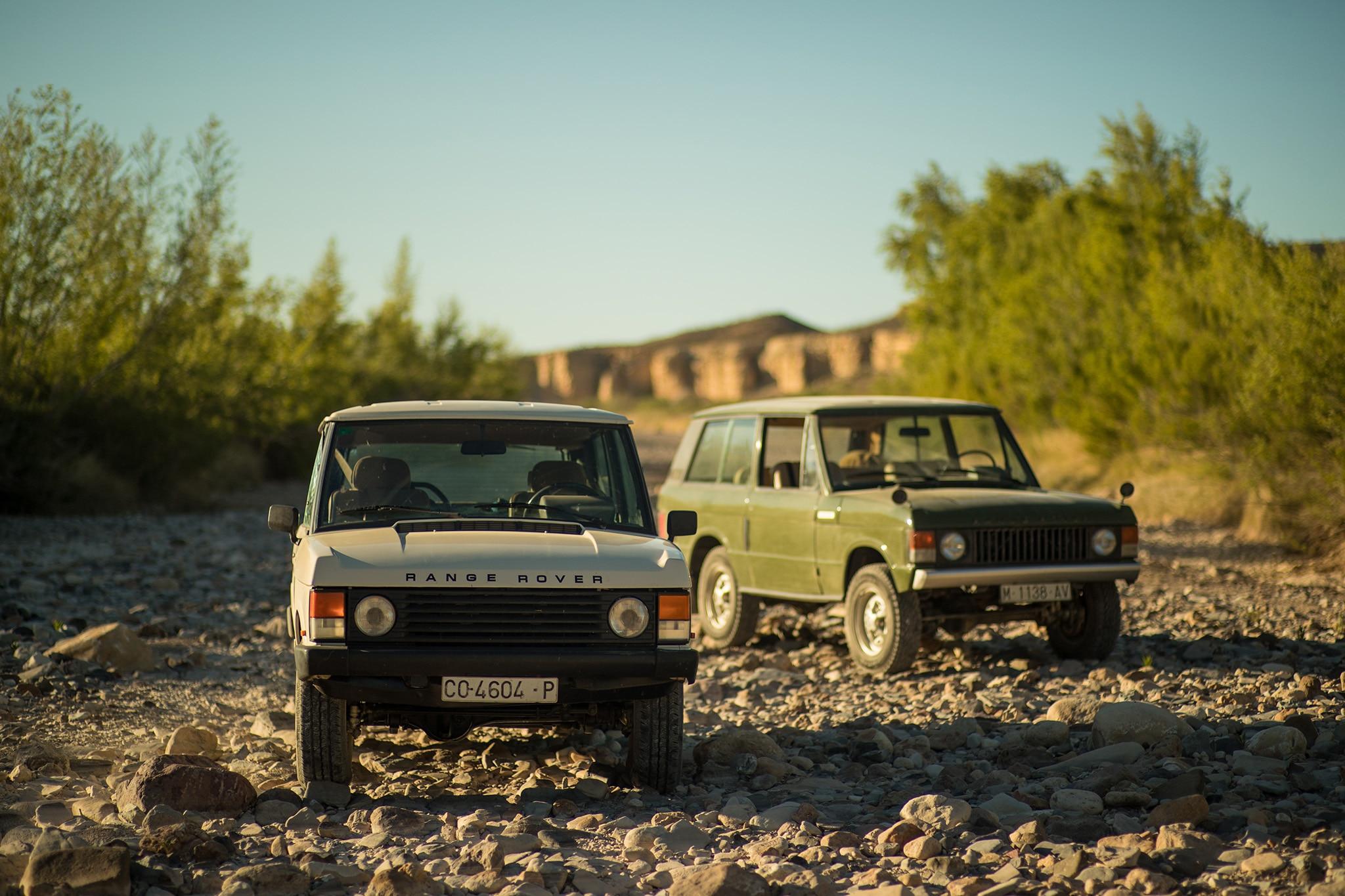 Dutch Safari Co Range Rover Big Bend Front 4