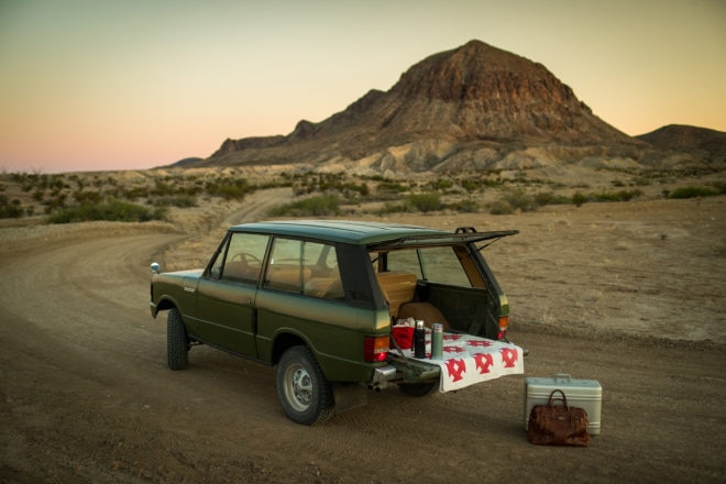 Dutch Safari Co Range Rover Big Bend Picnic