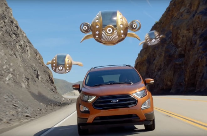 Ford Partners With Guardians Of The Galaxy S Baby Groot Epic Cuteness Ensues Automobile Magazine