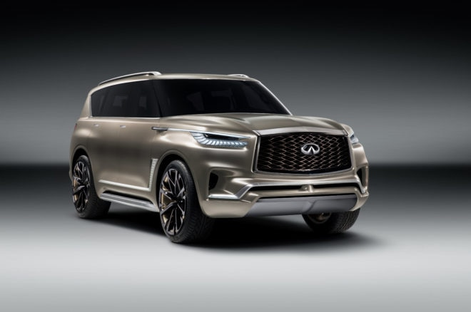 Infiniti QX80 Monograph shown ahead of NY debut