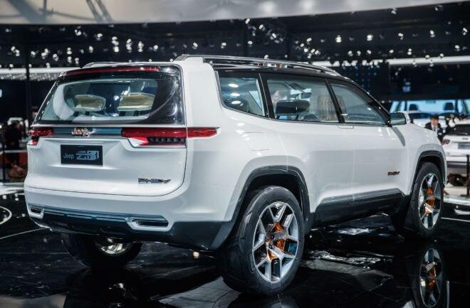 Jeep Yuntu Concept Rear