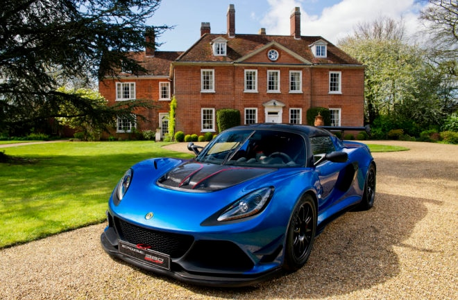 Lotus reveals hard core Exige Cup 380 sports vehicle