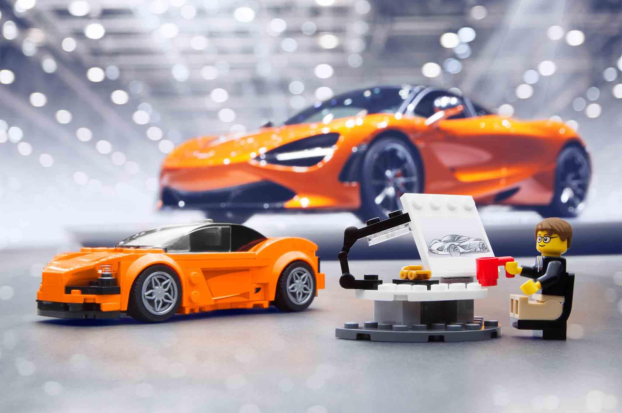 McLaren 720S LEGO Version 02