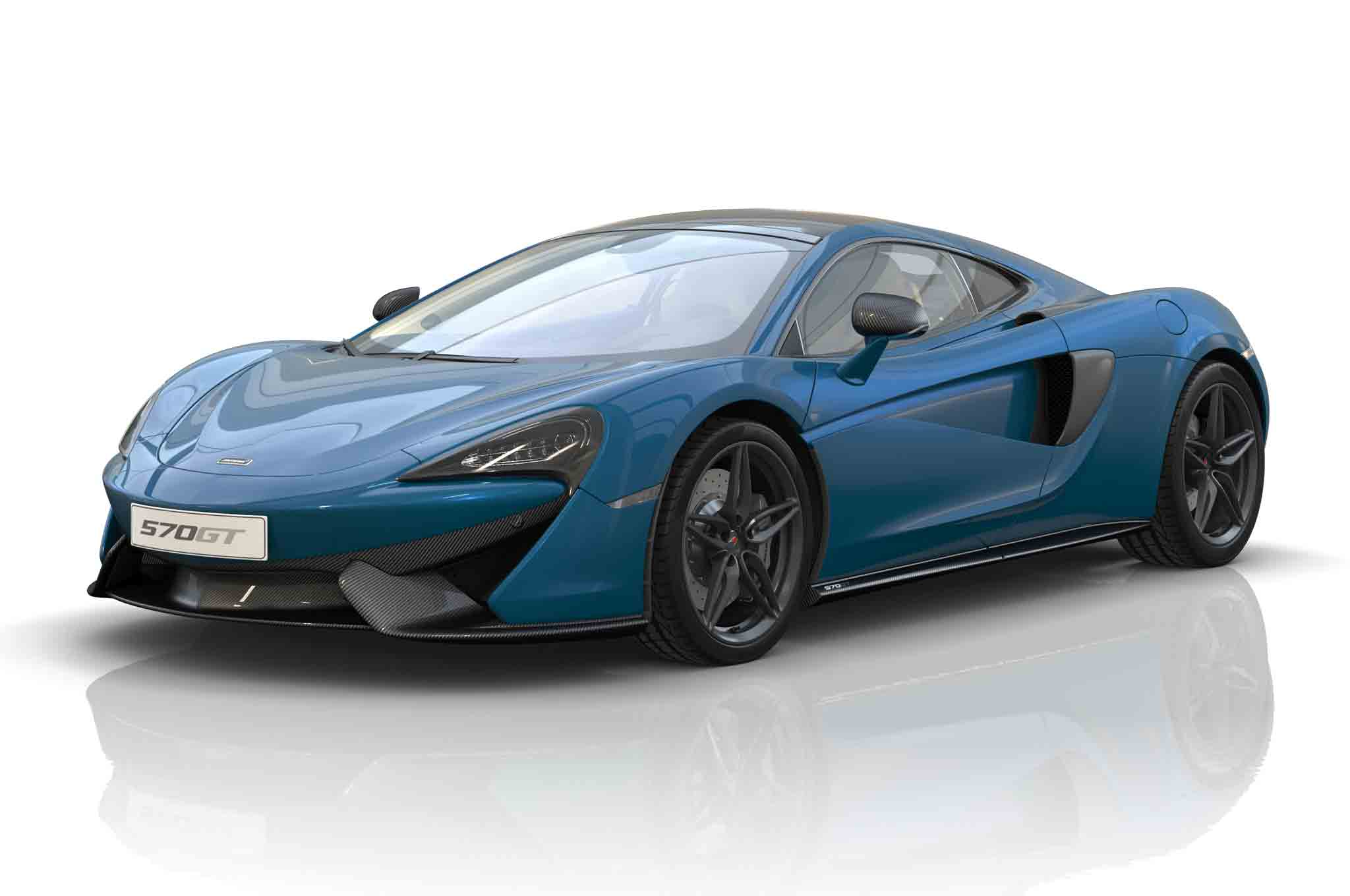 McLaren China Commemorative Edition 570GT Front Three Quarter 1