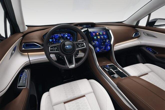 Subaru Ascent SUV Concept Dash