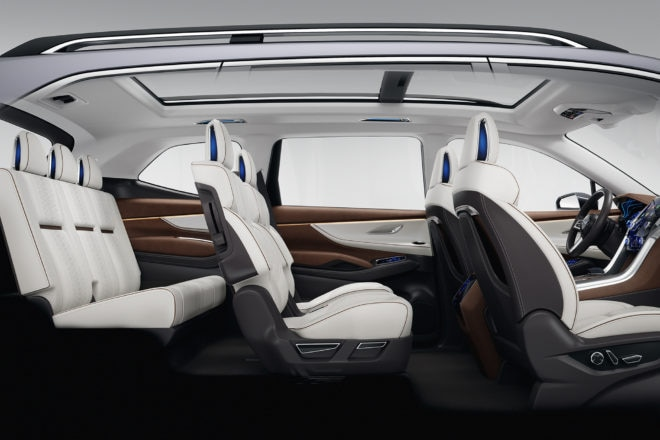 Subaru Ascent SUV Concept Full Interior