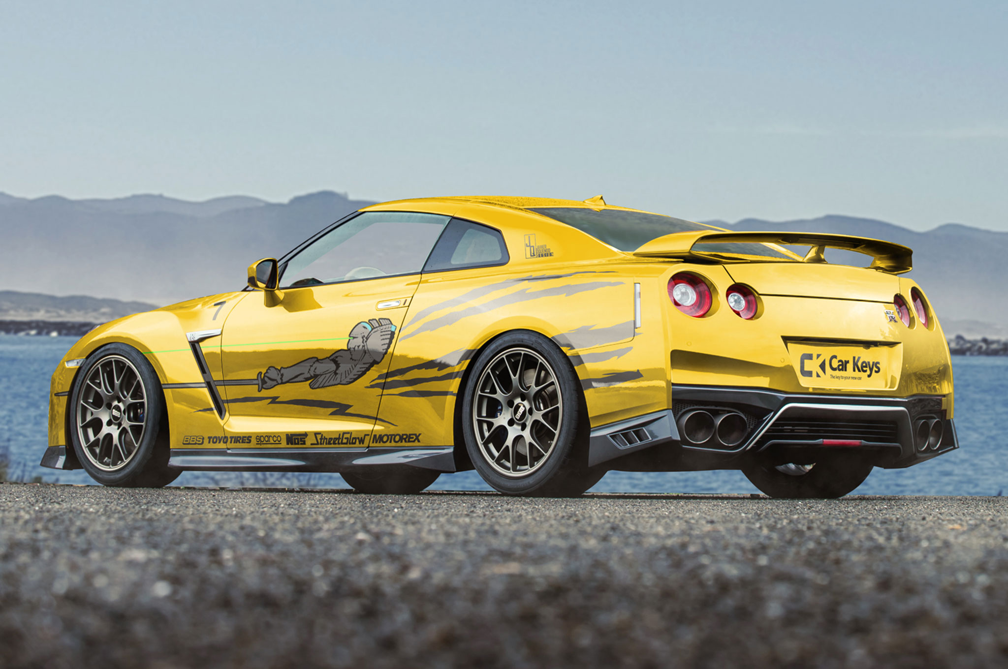 The-Fast-and-the-Furious-modern-renders-Nissan-GT-R