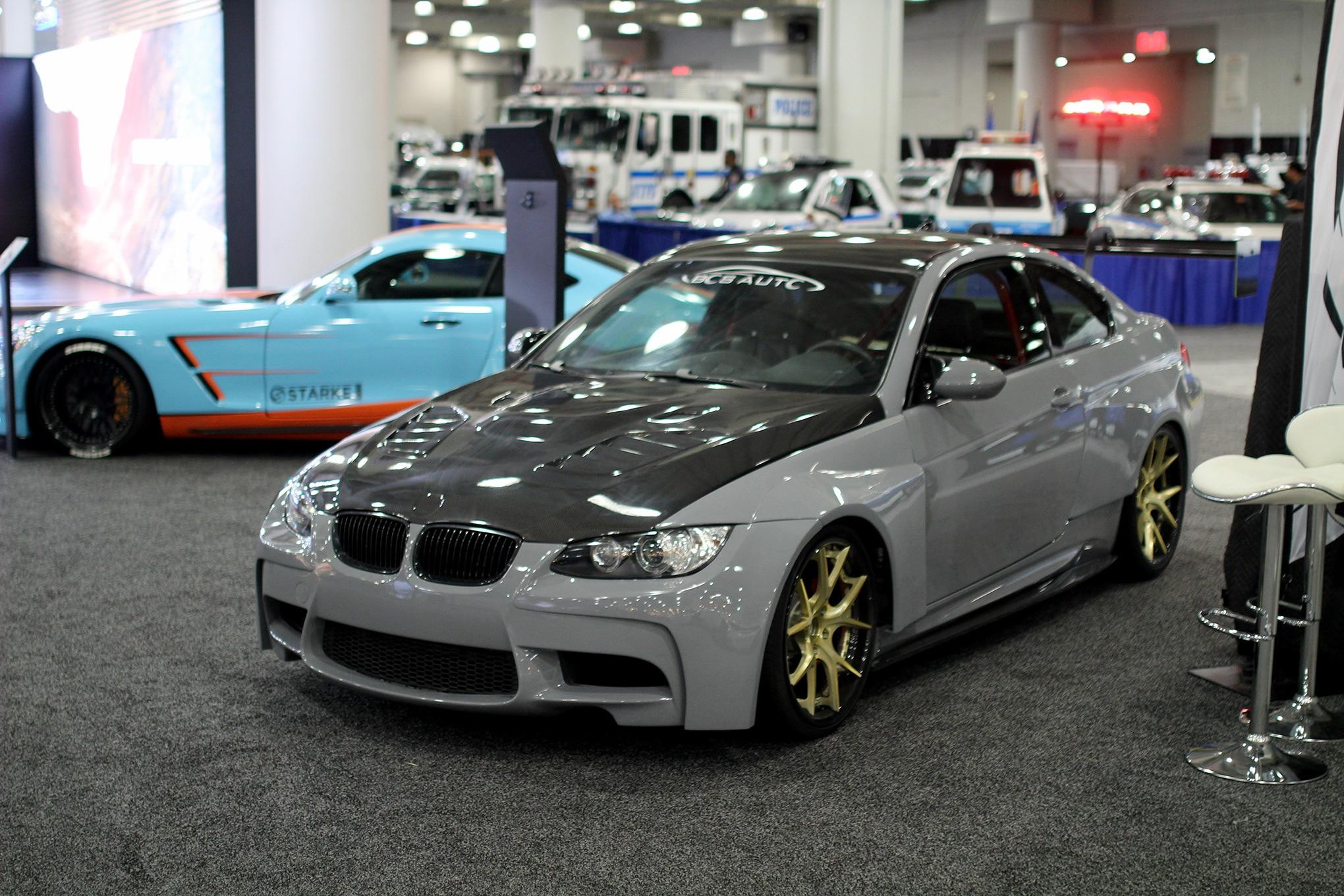 tuners  police cars     york auto show automobile magazine