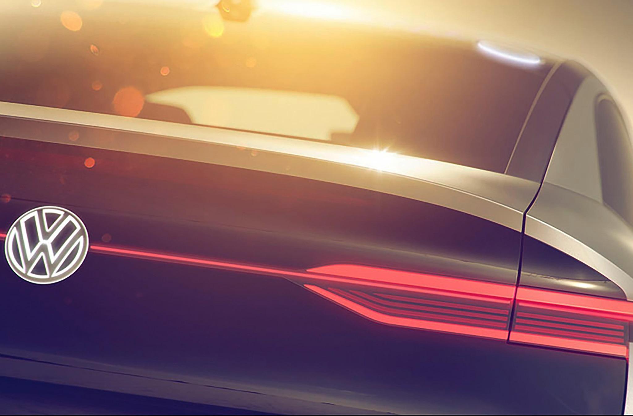 Volkswagen ID Crossover Concept Rear 1
