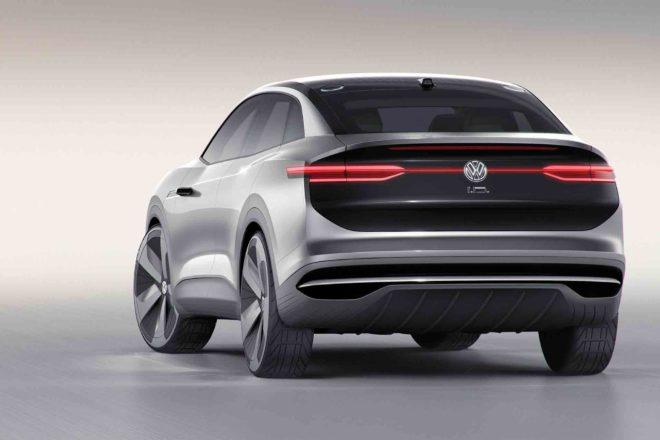 Volkswagen ID Crozz Concept rear three quarter 05