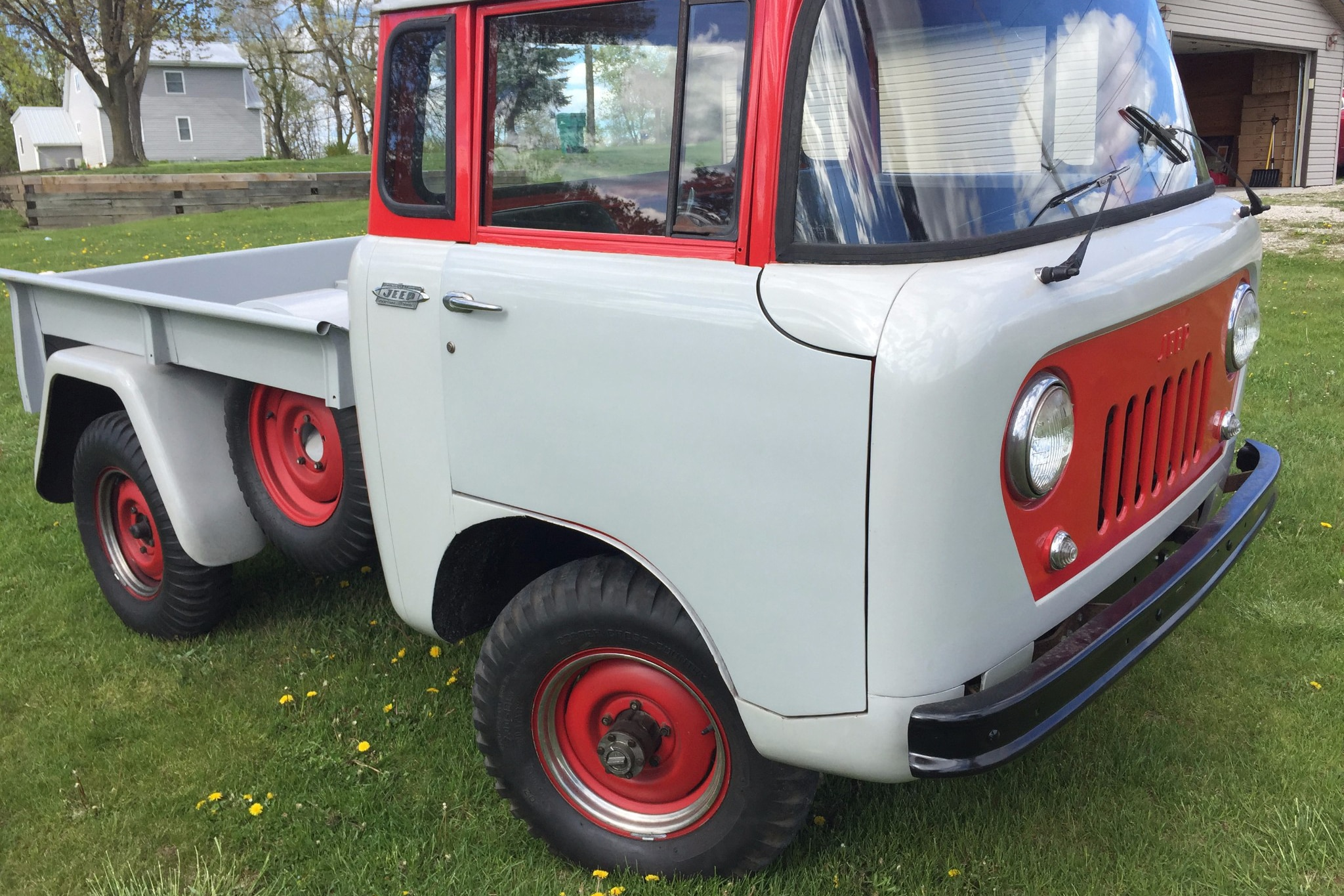 1962 Jeep FC 150 Just Listed Front Three Quarters