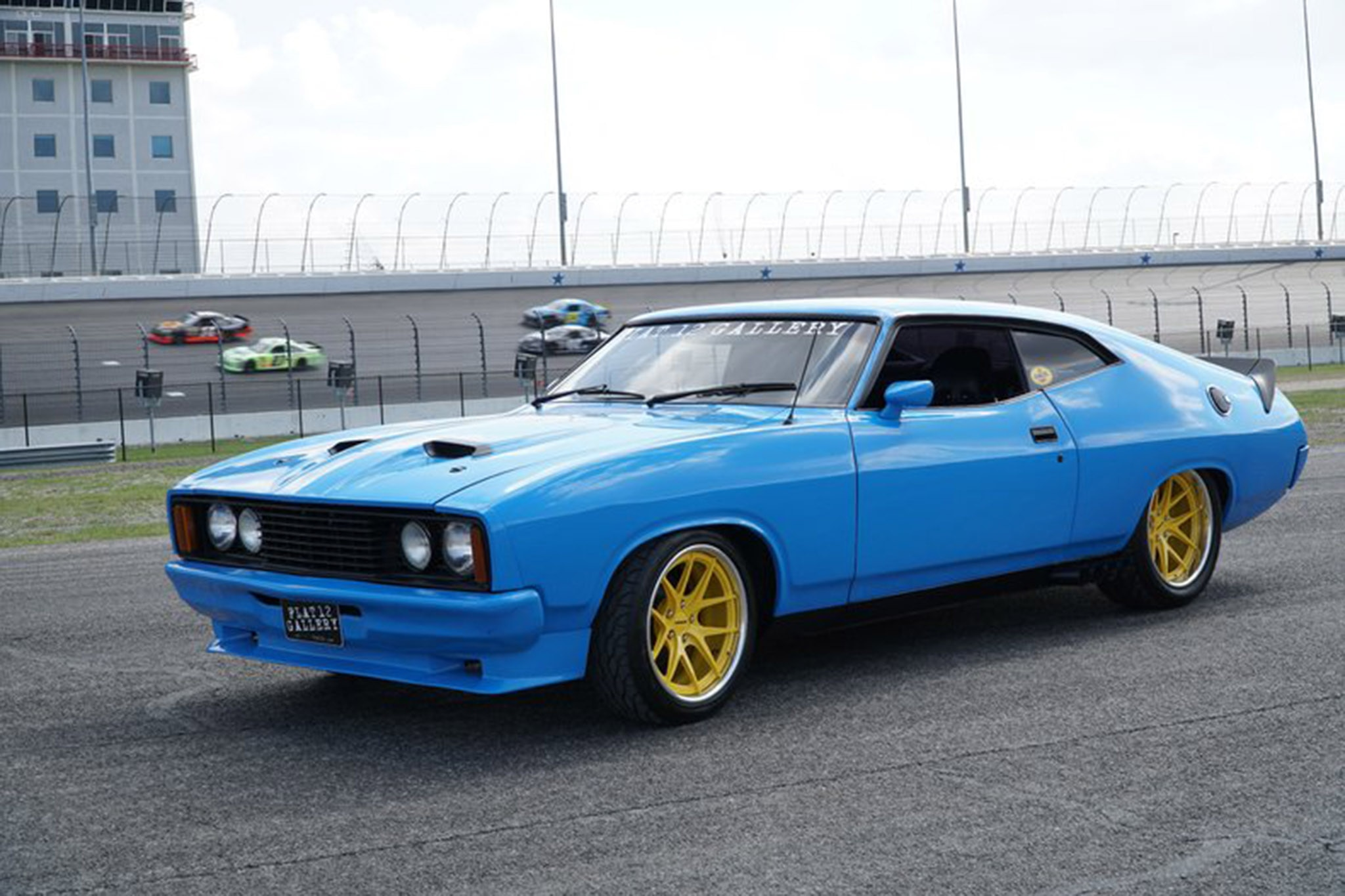 aussie in the states pro touring 1976 ford falcon xb goes. Black Bedroom Furniture Sets. Home Design Ideas