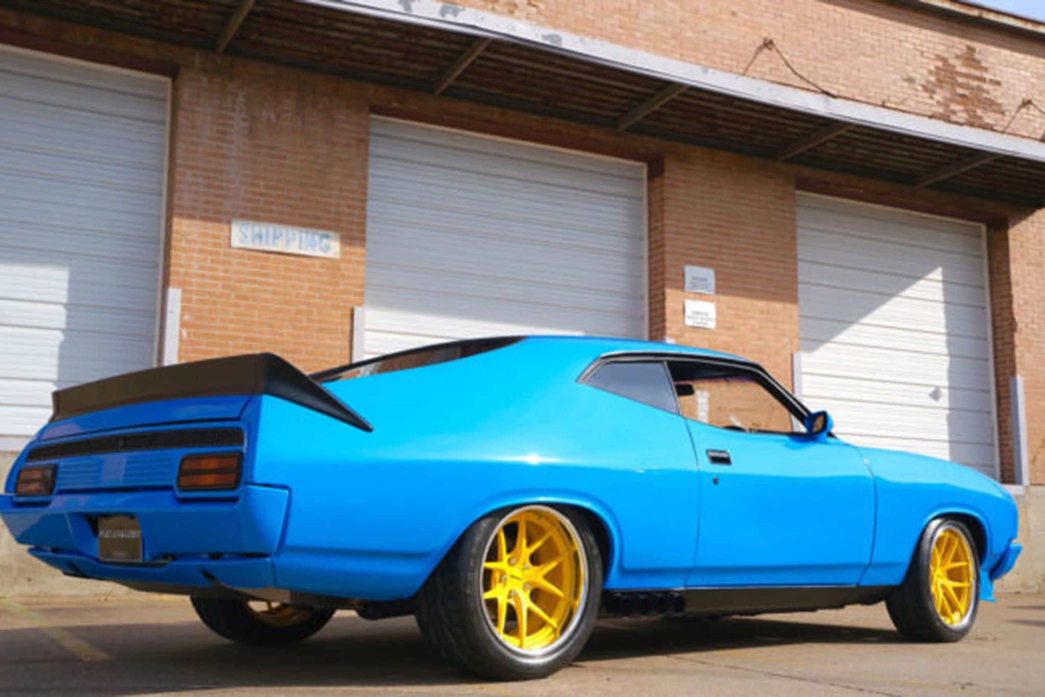 aussie in the states pro touring 1976 ford falcon xb goes up for auction automobile magazine. Black Bedroom Furniture Sets. Home Design Ideas
