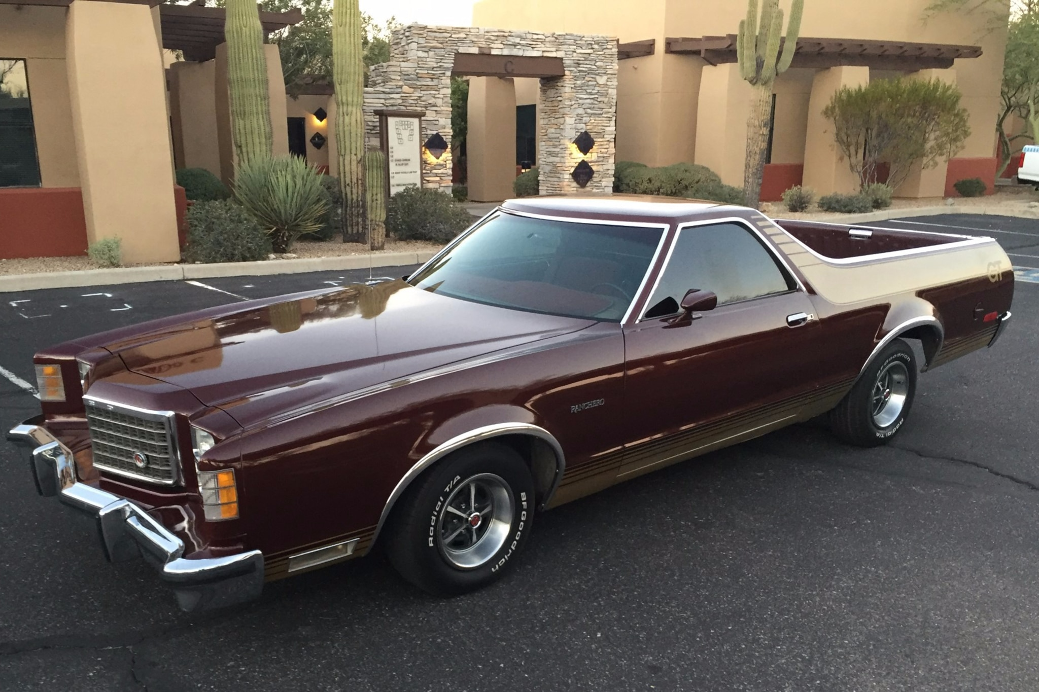 1978 Ford Ranchero Just Listed Front Three Quarters