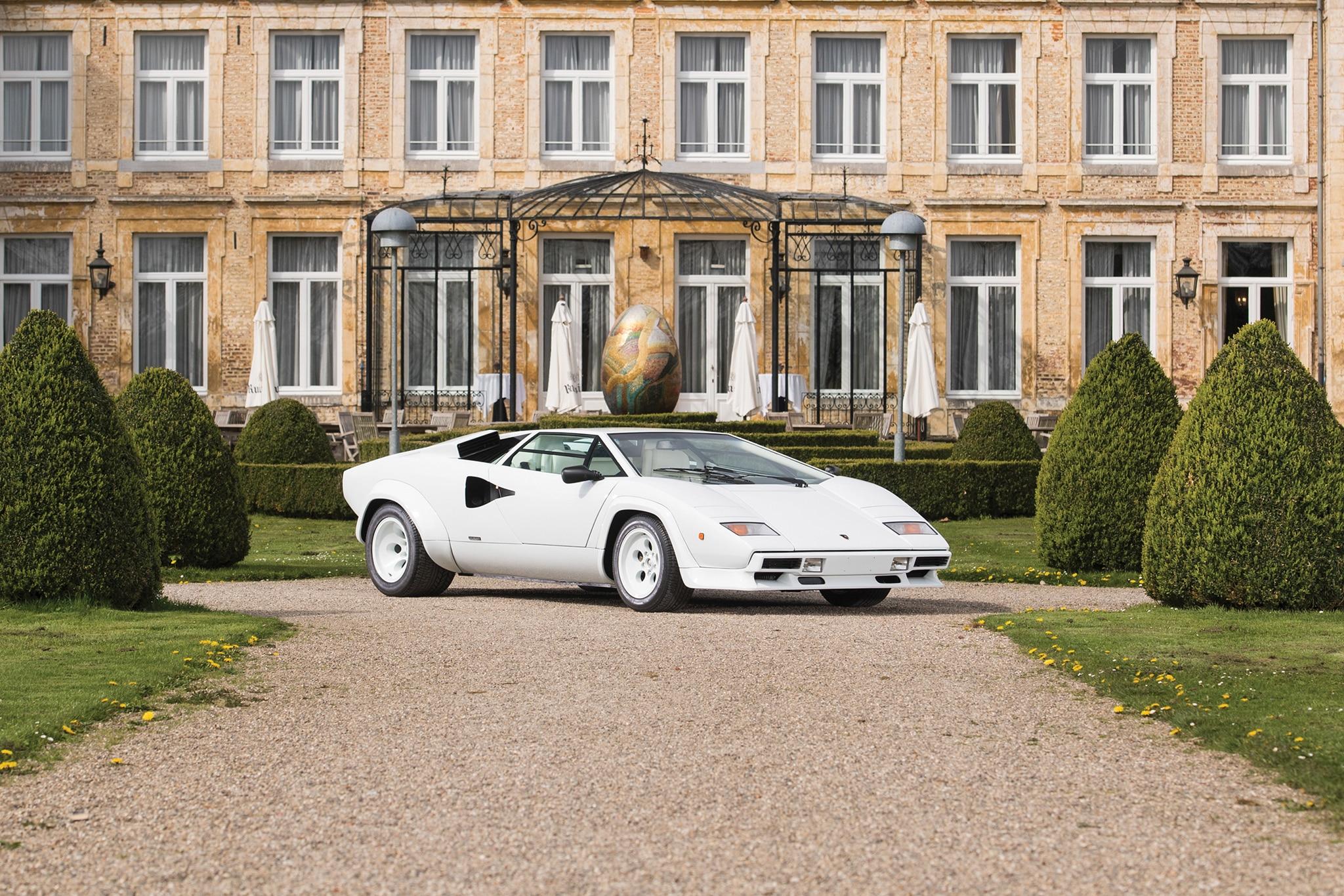1987 Lamborghini Countach 5000 QV RM Sothebys Front Three Quarters
