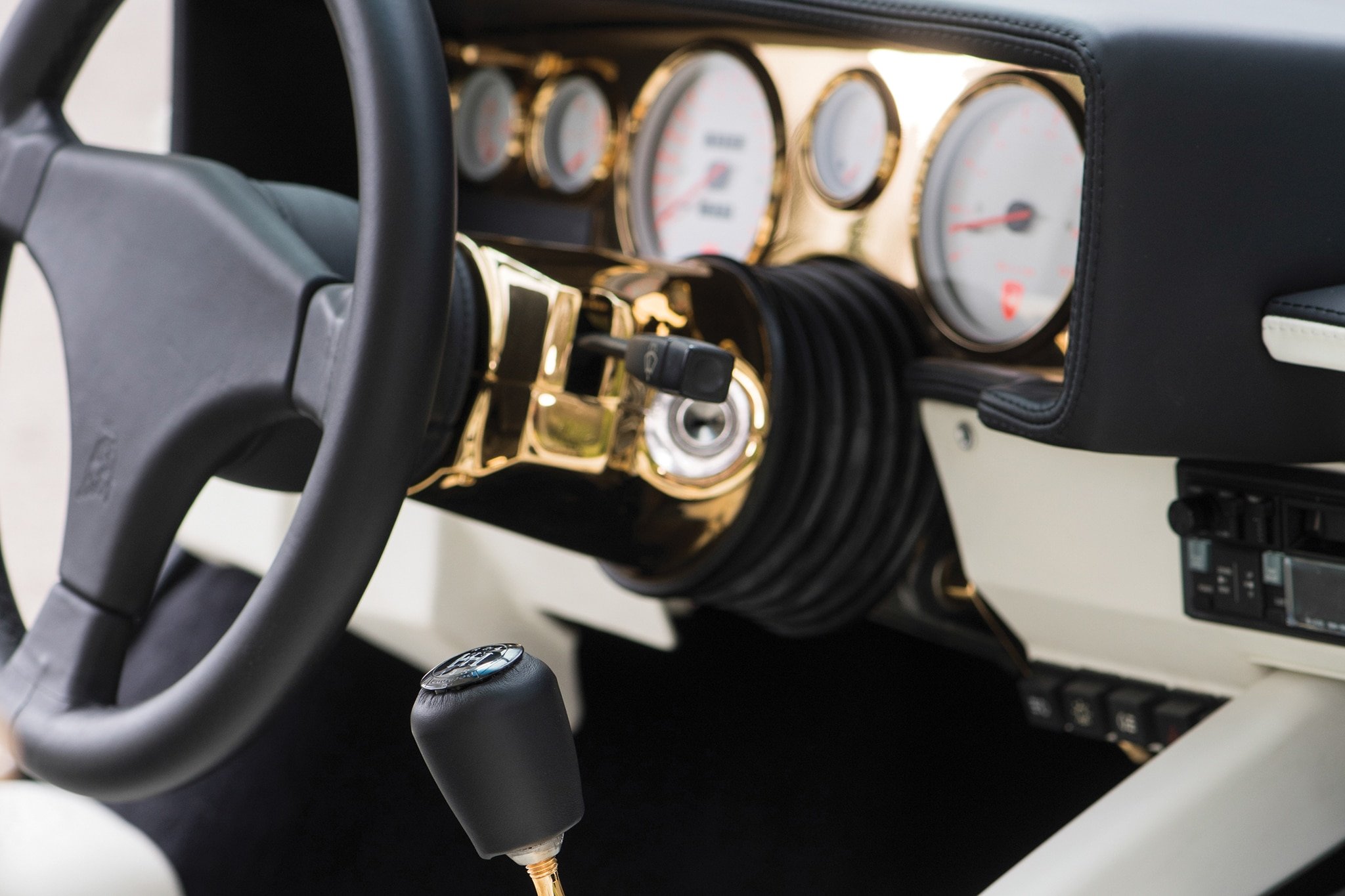1987-Lamborghini-Countach-5000-QV-RM-Sothebys-Gold-Dash Extraordinary Lamborghini Countach 5000 Quattrovalvole Specs Cars Trend