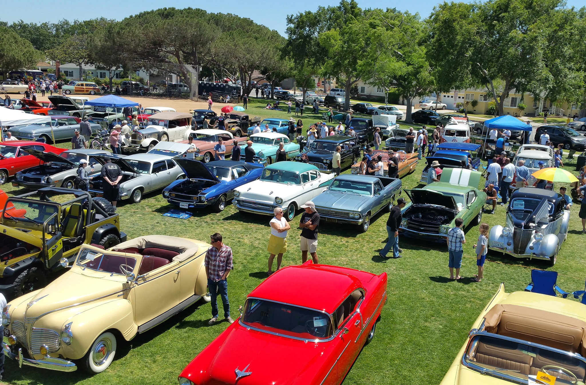 Highlights From The 14th Annual Culver City Car Show