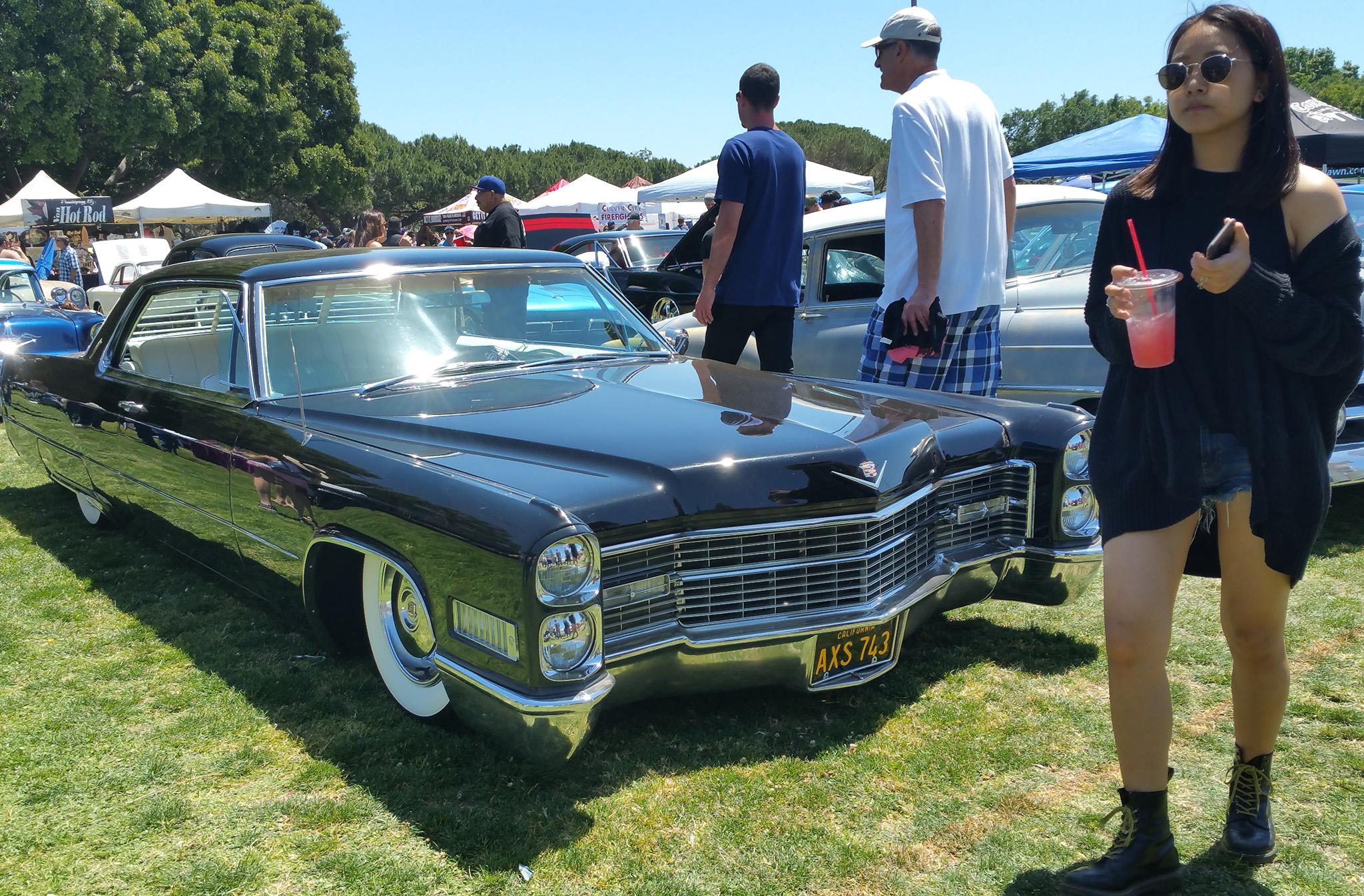 Culver City Car Show Parking