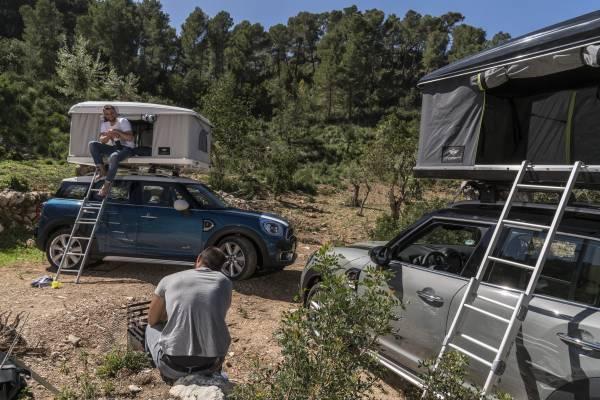 2017 MINI Countryman AUTOHOME Roof Tent 20