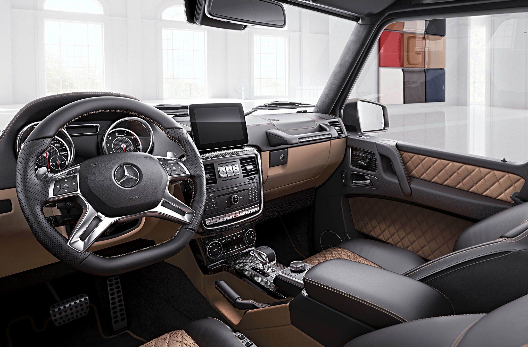2017 mercedes benz amg g class models get ritzy variants for Interieur 65