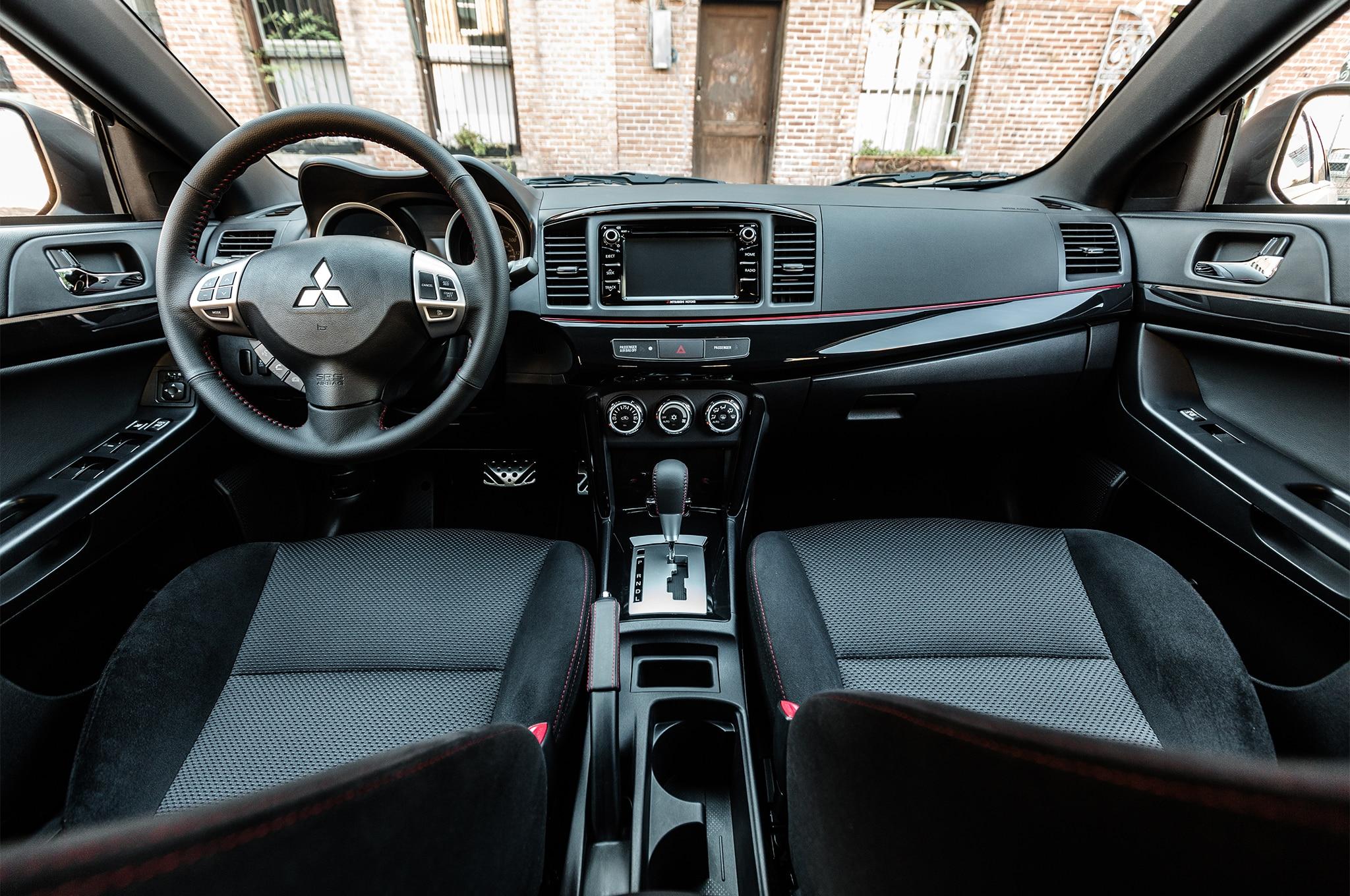 2017 Mitsubishi Lancer Limited Edition cabin