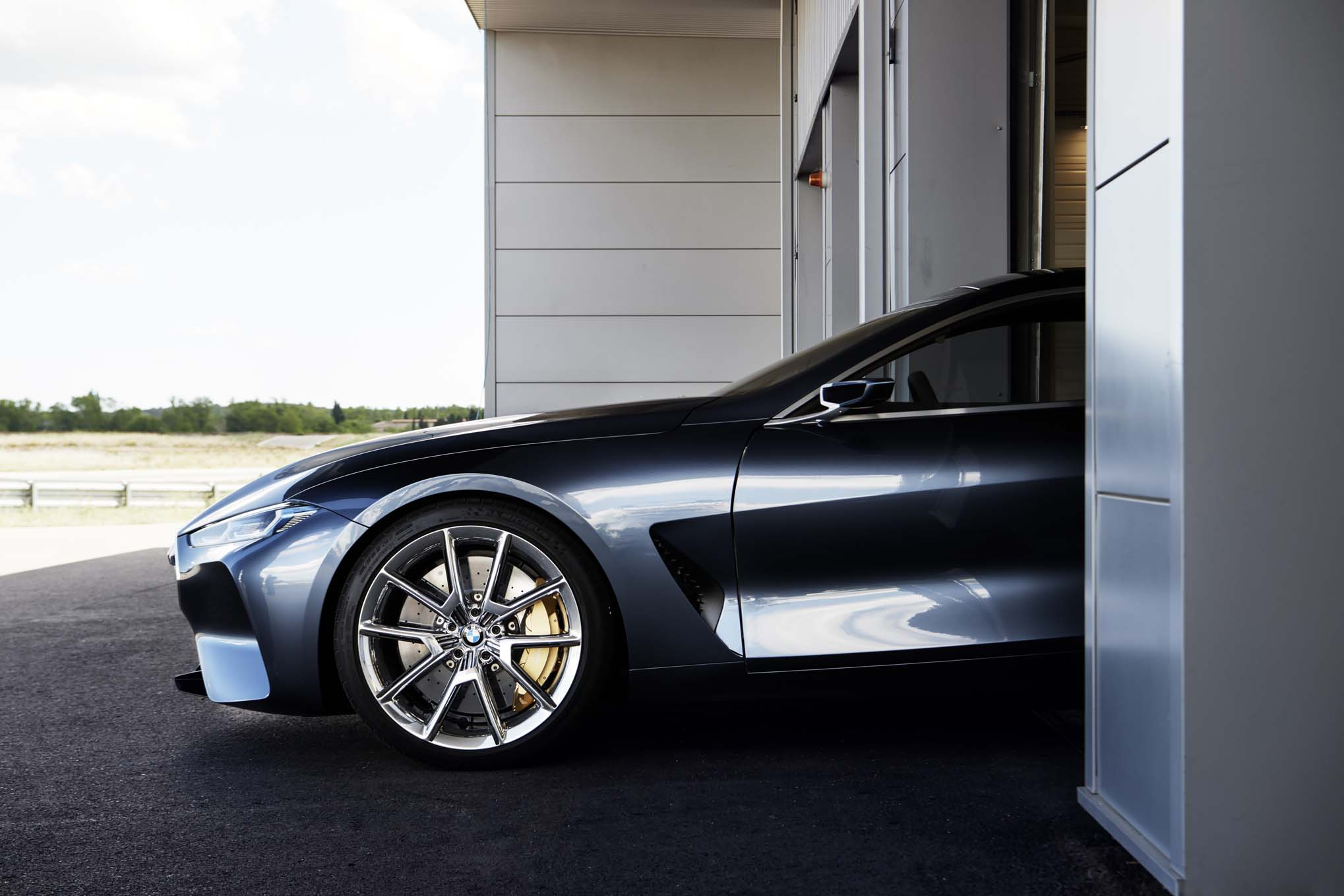 Bmw Concept 8 Series Heralds Production Version S Arrival In 2018