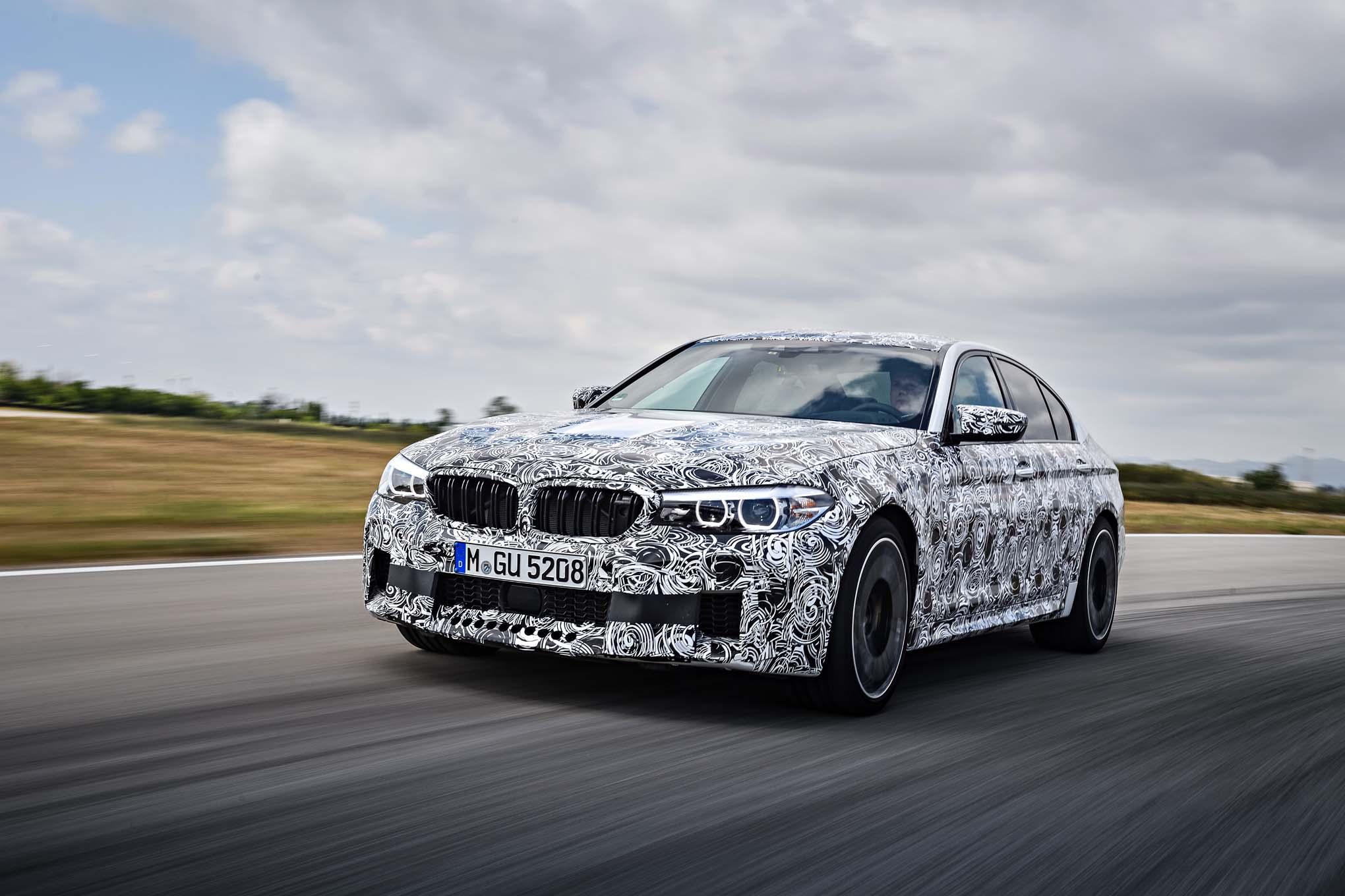 Prototype Drive: 2018 BMW M5
